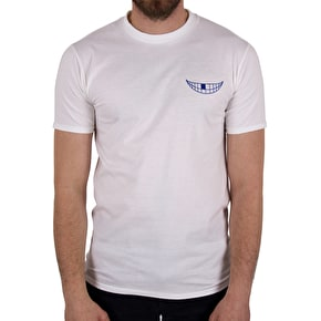 National Skateboard Co Grin T-Shirt - White