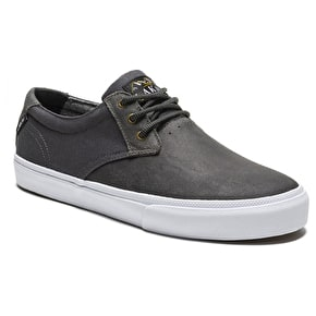 Lakai MJ WT Skate Shoes - Charcoal Oiled Suede