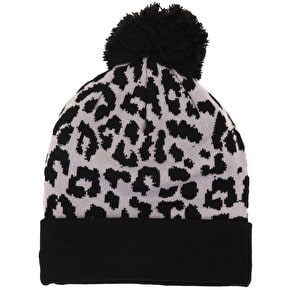 New Era Women's Beanie - Atlanta Braves Leopard Knit