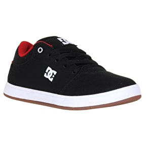 DC Crisis TX Skate Shoes - Black/Red/White