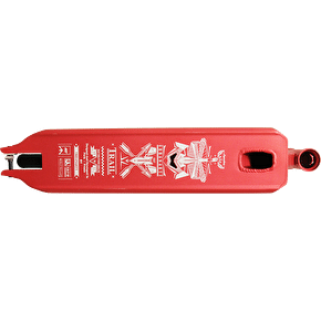 UrbanArtt Trail Deck - Red