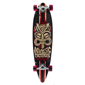 B-Stock Mindless Tribal Rogue II Complete Longboard - Black/Red 38'' (Cosmetic Damage)