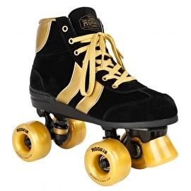 Rookie Authentic V2 Quad Roller Skates - Black/Gold