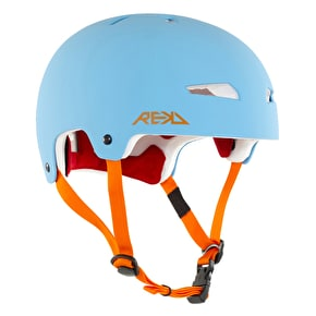 REKD Elite Helmet - Blue/Orange