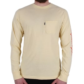 RIPNDIP Dead Rose Longsleeve T-Shirt - Yellow
