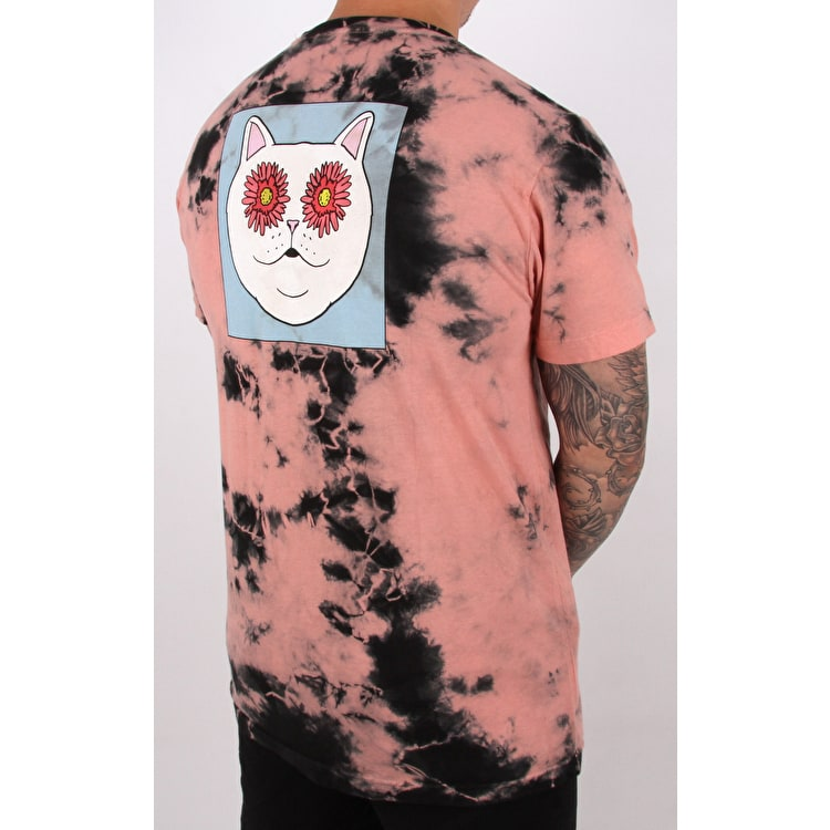 RIPNDIP Flower Eyes T-Shirt - Sunset Tie Dye