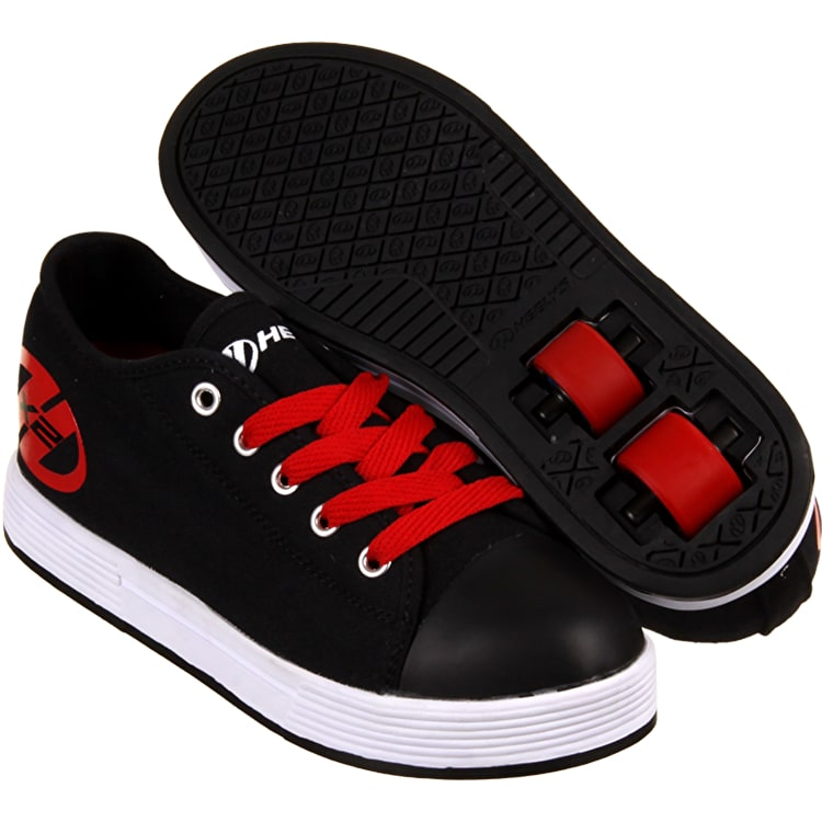 Heelys X2 Fresh in black and red