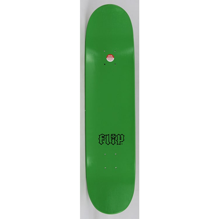 Flip HKD Decay Skateboard Deck - Green 7.75""