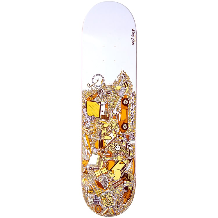 Drawing Boards Skateboard Deck - The Best Things In Life…Aren't Things 8""
