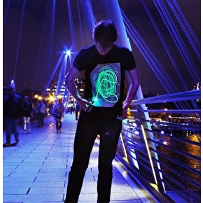 Illuminated Kids T-Shirt - Black