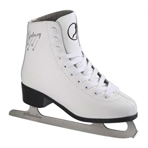SFR Galaxy Ice Skates - White (2015 Model)