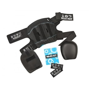 187 Pro Derby Knee Pads - Black