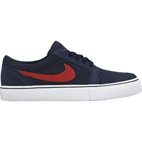 Nike SB Satire Kids Shoes - Obsidian/University Red