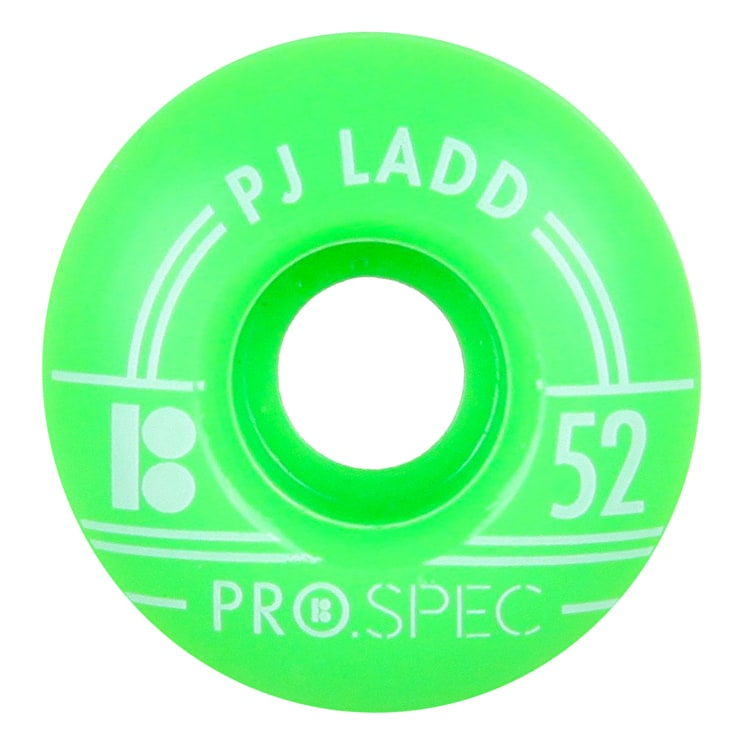 Plan B Skateboard Wheels - Pro Spec Ladd 52mm (Pack of 4)