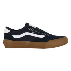 Vans Chima Pro 2 Skate Shoes - Navy/Gum/White