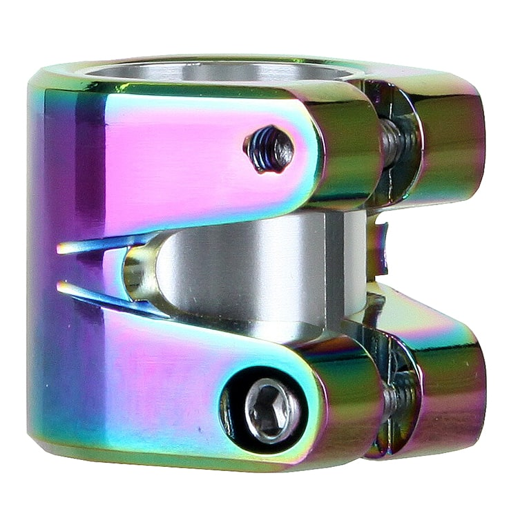 Striker Essence Double Collar Clamp - Neochrome