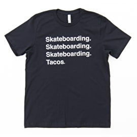 ReVive Skateboarding Tacos T-Shirt - Black