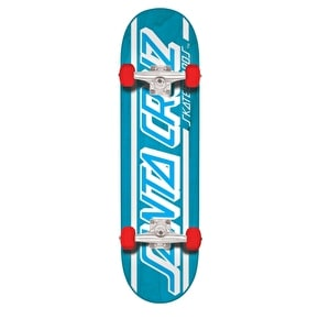 Santa Cruz Strip Complete Skateboard - Blue 7.8