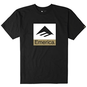Emerica Combo 10 T-Shirt - Black/White