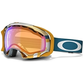 Oakley Splice Snow Goggles - 1975 Blue/Orange/Hi Persimmon