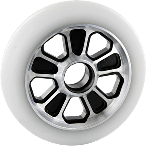 Root Industries Revolver Wheel White on Black - 110mm