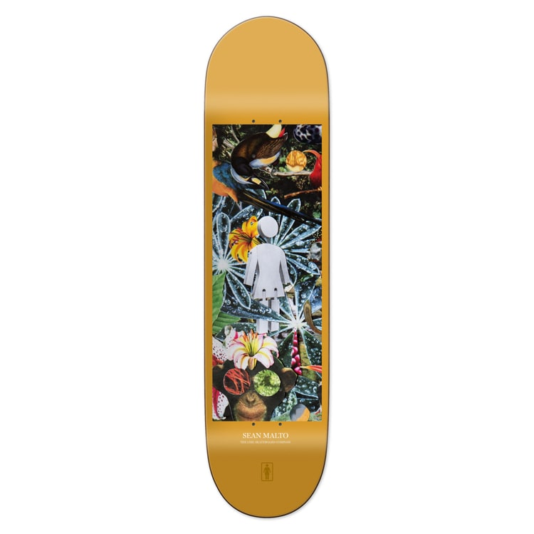 Girl Jungle Malto Skateboard Deck 8.125""