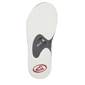 Reef Fanning Flip-flops - Black/Grey/Wood