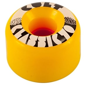 Cult Classic II 70mm 80a Longboard Wheels - Yellow (Pack of 4)