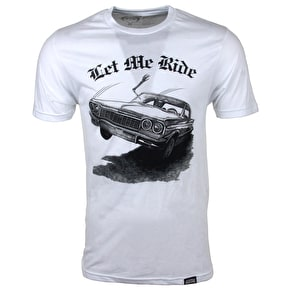 Rook Let Me Ride T-Shirt - White Heather