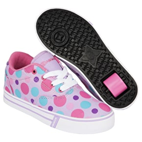 B-Stock Heelys Launch - Lilac/Multi Polka Dots- UK 5 (Box Damage)