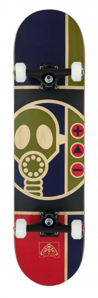 Alien Workshop Complete Skateboard  Gas Mask 8.0