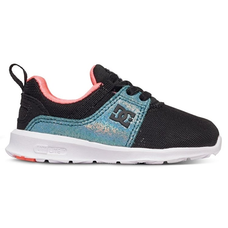 DC Heathrow Toddler Shoes - Black/Multi