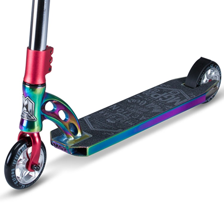 MGP VX7 Team LE Stunt Scooter - Neochrome/Red