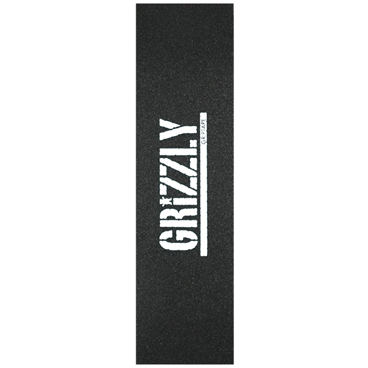 Grizzly Grip Tape - Stamp White
