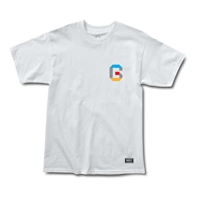 Grizzly Coliseum 3D T-Shirt - White