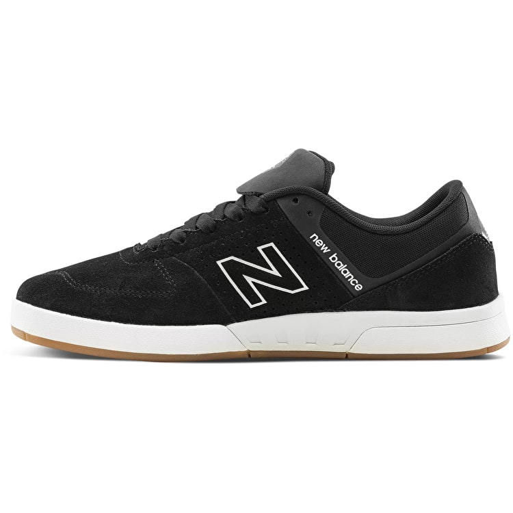 New Balance 533 V2 Skate Shoes - Black/Gum