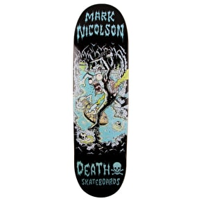 Death Polluted Cave Skateboard Deck - Nicolson 8.75