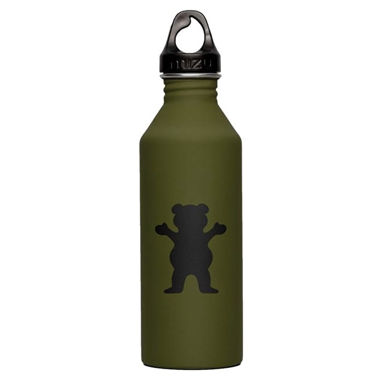 Grizzly X Mizu Water Canteen - Military Green