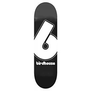 Birdhouse Giant B Logo Skateboard Deck - Black 8.25