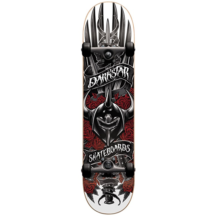 Darkstar Sword Premium Complete Skateboard - Red 7.75""