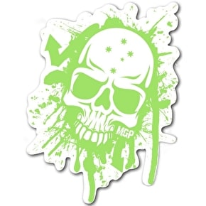 MGP Green Skull Sticker