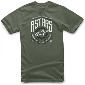 Alpinestars Shed T-Shirt - Military Green