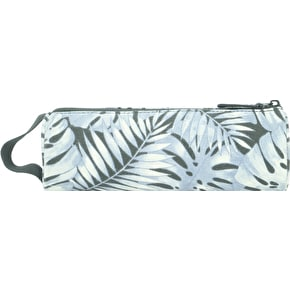 Mi-Pac Tropical Leaf Pencil Case - Grey