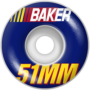Baker Pit Stop Skateboard Wheels 51mm