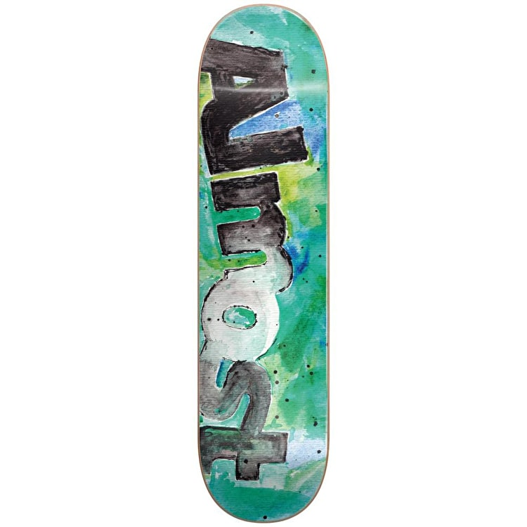 "Almost Colour Bleed HYB Skateboard Deck 8"" - Teal"