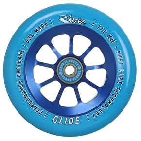 River Wheels 110mm Glides Scooter Wheel - Blue