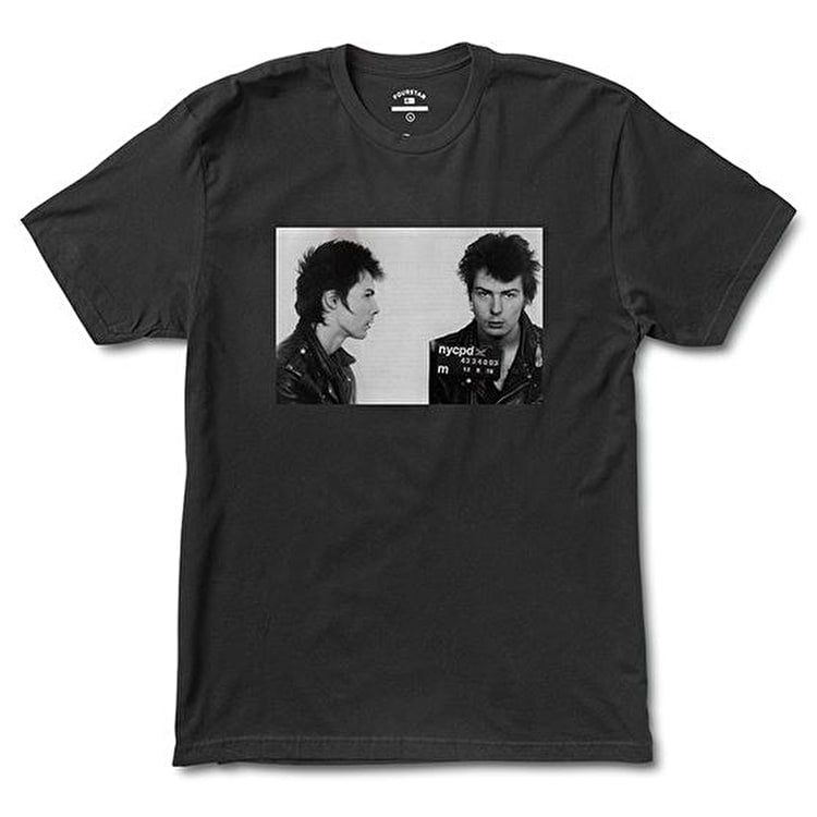 Fourstar Sid Mugshot T-Shirt - Black