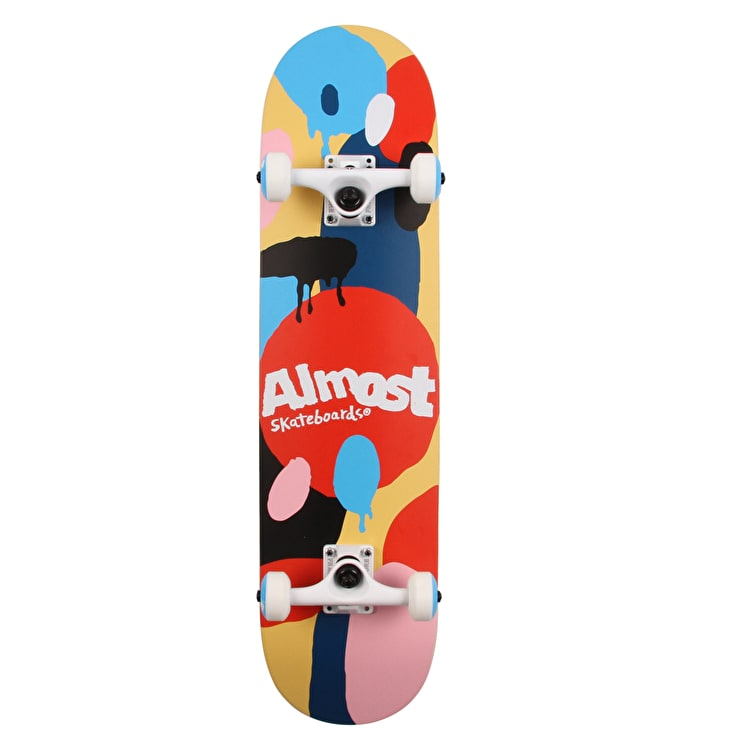 Almost Spotted Custom Skateboard 7.75""