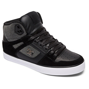 DC Spartan High Skate Shoes - Black Used