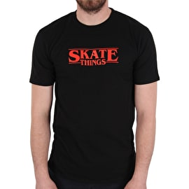 Skatehut Skate Things Limited Edition T-Shirt - Black/Red